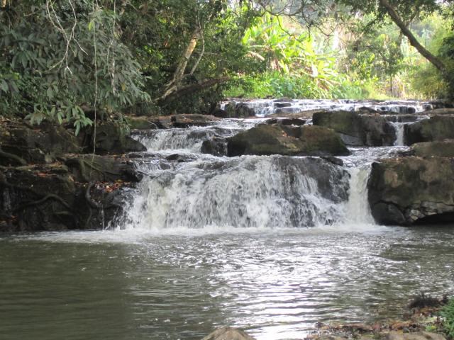 O Pol waterfall